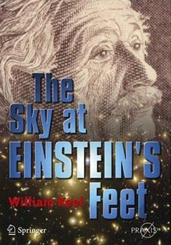Sky at einsteins feet